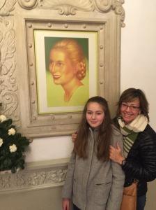 My ladies with Evita