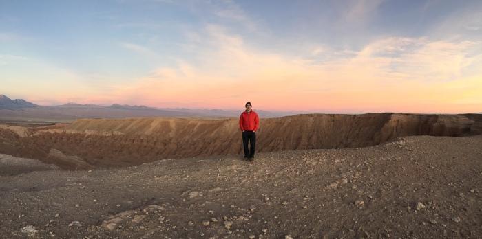 Sunset from Valle de la Muerte